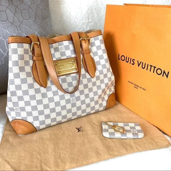 Louis Vuitton Handbags - Louis Vuitton Hampstead MM Damier Azur Tote Bag